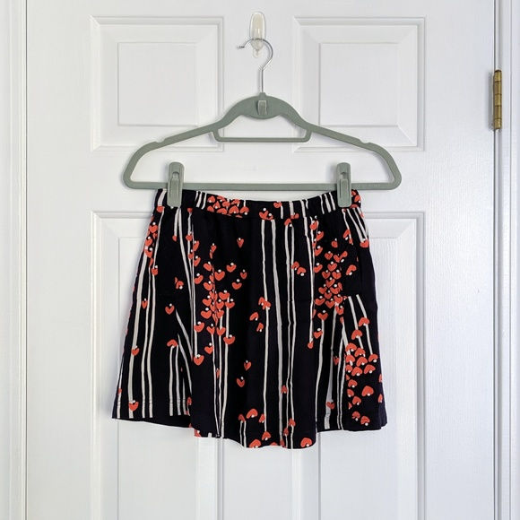 Urban Outfitters Dresses & Skirts - Urban Outfitters Cooperative Navy Blue Heart Skirt